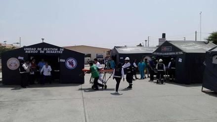 Simulacro de sismo en hospital EGB evidencia falta de logística