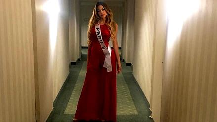Milett Figueroa deslumbra al jurado en concurso de belleza