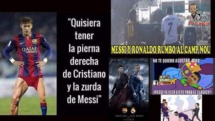 Barcelona y Real Madrid son víctimas de los memes en la previa del clásico