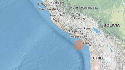 Dos sismos remecieron Moquegua y Junín esta madrugada