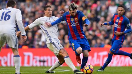 Así fue el 'tibio' saludo de Messi y Cristiano Ronaldo previo al clásico