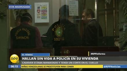 Asesinan a un policía en su propia casa en el Rímac
