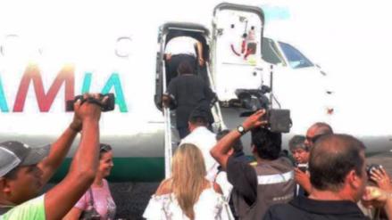 Evo Morales voló hace dos semanas en el avión del Chapecoense
