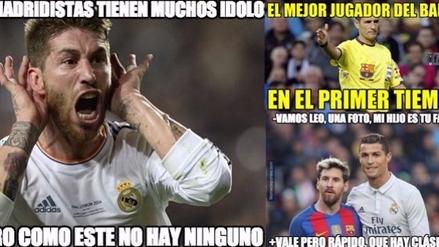 Real Madrid empató al Barcelona en el último minuto y es protagonista de los memes