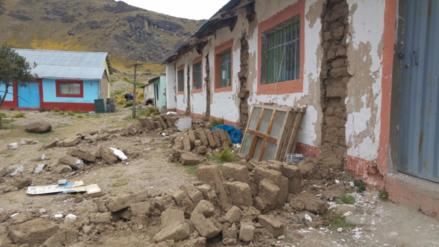 Así quedaron las 275 casas inhabitables en Ocuviri tras fuerte sismo en Puno