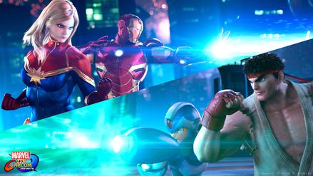 Estas son las primeras imágenes de Marvel vs. Capcom: Infinite