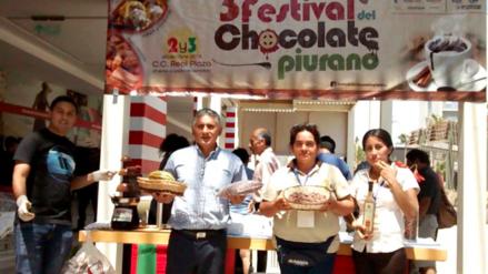 Festival del chocolate con cacao piurano