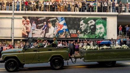 Fidel Castro ya fue enterrado en Santiago de Cuba