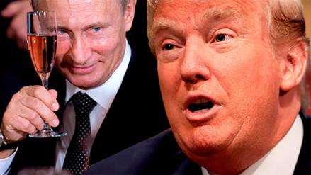 Vladímir Putin elogió la inteligencia de Donald Trump