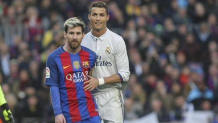 Cristiano Ronaldo bajó a marcar a Messi. ¿Qué se dijeron?