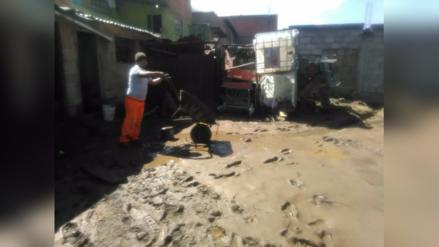 La Oroya: veinte casas fueron afectadas por fuertes lluvias y huaicos