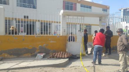 Octogenario falleció en la puerta de posta de salud en Arequipa