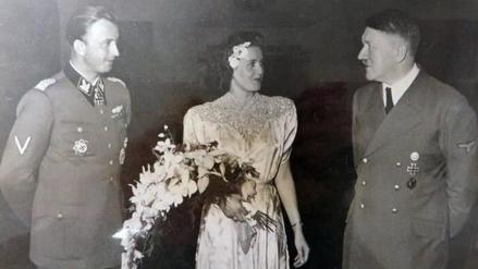 La foto inédita de Adolf Hitler junto a su cuñado al que mandó fusilar