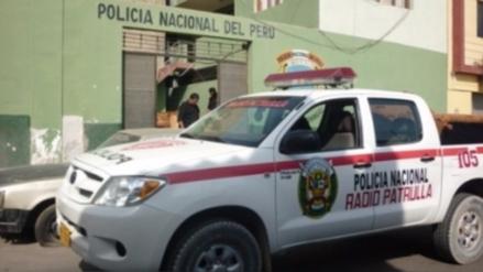 Turista colombiano atacó a cuatro policías con machete