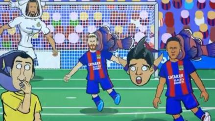 La divertida parodia del Clásico español que se burla del Barcelona
