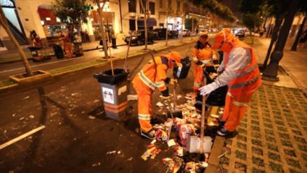 Denunciarán penalmente a quienes arrojaron basura en calles del Cercado