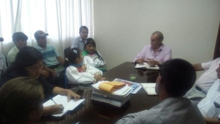 Dan solución a reinició de construcción de colegio en Kañaris
