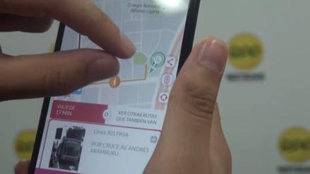 TuRuta, la aplicación que te guía en el transporte público de Lima