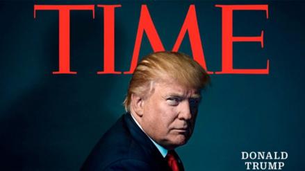 Donald Trump fue elegido como la persona del año por Time