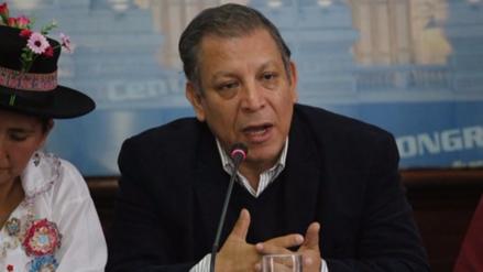 Marco Arana exhorta a congresistas no ceder a intereses de