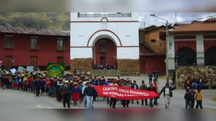 Huamachuco: paro de ronderos se acata de manera parcial