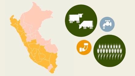 Estas son las regiones en emergencia por falta de agua