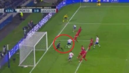 Para verlo mil veces: Brahimi marcó golazo de taco con el Porto
