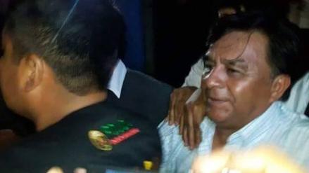 Chincha: detienen a alcalde de Pueblo Nuevo tras recibir coima