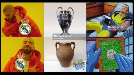 Memes se burlan del Real Madrid y su empate ante el Borussia Dortmund