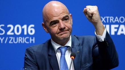 Gianni Infantino ahora propone un Mundial con 48 equipos divididos en 16 grupos de 3