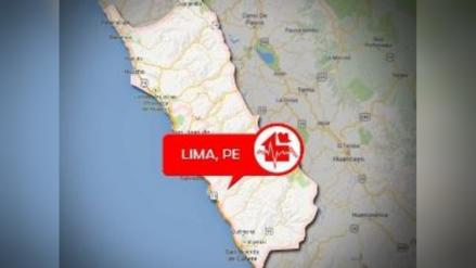 Sismo de 4.3 grados de magnitud remeció Barranca