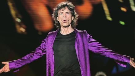 Mick Jagger se convierte en padre por octava vez