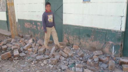 Declaran el estado de emergencia en la provincia de Lampa por el sismo