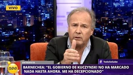 """Alfredo Barnechea a PPK: """"En qué momento va a defender el gas para los peruanos"""""""
