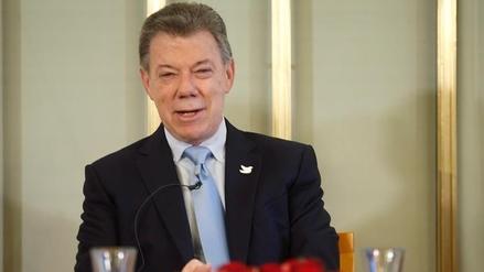 Juan Manuel Santos viajó a Oslo para recibir el Premio Nobel