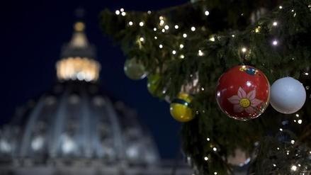 El Vaticano inauguró su nacimiento y árbol de Navidad