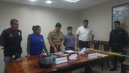 Chimbote: lanzan campaña para evitar venta de artefactos pirotécnicos