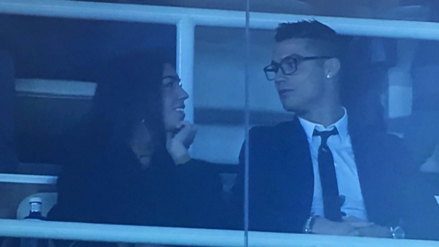 Cristiano Ronaldo se luce con Georgina Rodríguez en el Santiago Bernabéu
