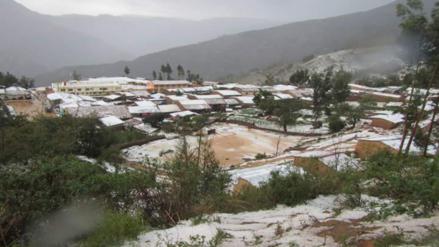 Fuerte granizada afecta cultivos en cinco comunidades de Ayacucho