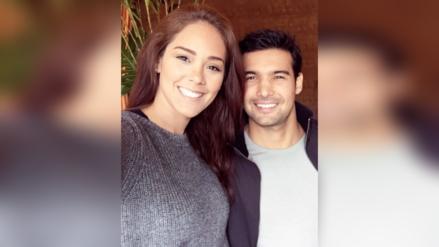 Karen Schwarz y Ezio Oliva revelaron nombre de su bebé
