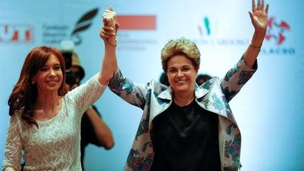 Rousseff y Fernández alertan el retorno del neoliberalismo en Latinoamérica