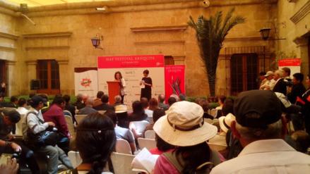 Hay Festival Arequipa se realiza por segundo día consecutivo
