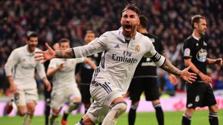 Sergio Ramos nuevamente salió al rescate del Real Madrid