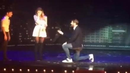 Álvaro Morata le pidió matrimonio a su enamorada en un espectáculo de mágia