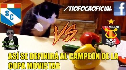 Memes calientan la primera final entre Melgar y Sporting Cristal en Arequipa