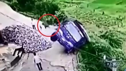 Camionero salva su vida gracias a maniobra de Rápidos y Furiosos