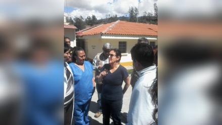 Muestran malestar a ministra de Salud en Bambamarca