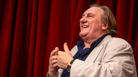 Gérard Depardieu se reunió con estudiantes de arte dramático en Lima