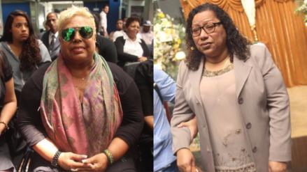 Lucía de la Cruz y Bartola se juntaron para despedir a Lucila Campos