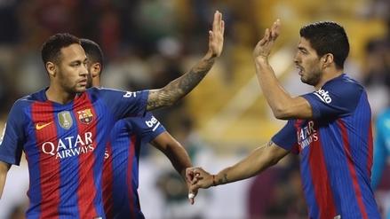Con show de la 'MSN': Barcelona goleó 5-3 a Al Ahli en amistoso